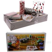 Настольная игра Алко-Покер (60 фишек) в комплекте со стаканами, L30 W15 H5,5 см