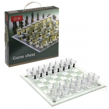 Игра настольная (питейная) Шахматы, L28 W28 H5 см