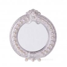 Зеркало настольное, L14 W2 H15,5 см