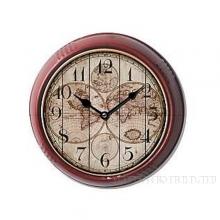 Часы настенные Карта, 24.5X24.5X6.5см