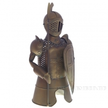 Подставка для бутылки Рыцарь, L15 W14 H31 см