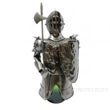 Подставка для бутылки Рыцарь, L15 W14.5 H31 см