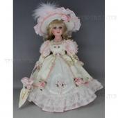 Кукла фарфоровая Татьяна, H30см