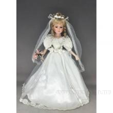 Кукла Невеста, H45 см