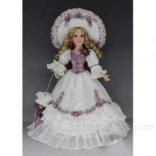 Фарфоровая кукла Оксана, H45см