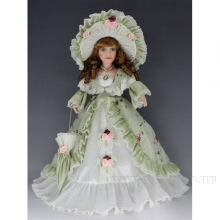 Кукла фарфоровая Елизавета, H45см