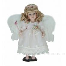 Фарфоровая кукла Ангел, H30см