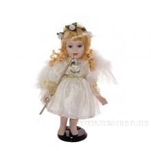 Кукла фарфоровая Ангел, H30см