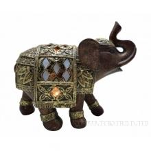 Фигурка декоративная Слон с LED, L17 W7,5 H14,5см (3xLR44, прилагаются)