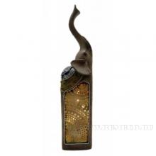Фигурка декоративная Слон с LED, L7 W5,5 H31см (3xLR44, прилагаются)