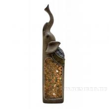 Фигурка декоративная Слон с LED, L7 W5,5 H26,5см (3xLR44, прилагаются)