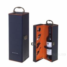 Шкатулка с набором сомелье для 1 бутылки, L36 W11 H12см