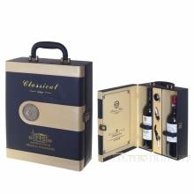 Шкатулка с набором сомелье для 2-х бутылок, L35 W20 H13см