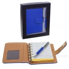 Записная книжка с ручкой, набор,  L20 W5 H17 см