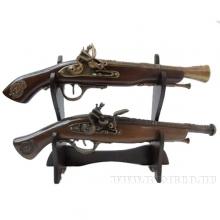 Декоративные пистолеты, зажигалки, трости