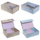 Коробка подарочная (складная), L21,5 W16 H8см, 2в.