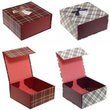 Коробка подарочная (складная), L21 W21 H10см, 2в.