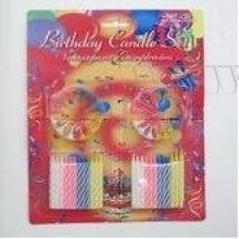 Набор свечей для торта, L24W20H1,6 См