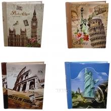 Фотоальбом 20 страниц(23*28), L24,5W29H1,5 cм, 4в.