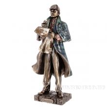 Фигурка декоративная Шерлок Холмс, L13,5 W9,5 H28см