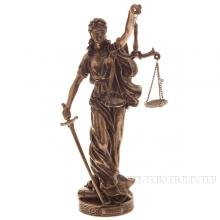 Фигурка декоративная Фемида (Богиня правосудия), L10,5 W9 H28см