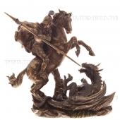 Фигурка декоративная Святой Георгий Победоносец, L23 W11,5 H21,5см