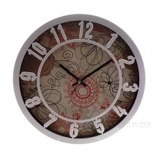 Часы настенные круглые Винтаж D30см