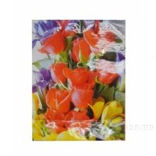 Пакет подарочный (бумага, плотность 157г/м2, блок 12 шт), 13х6  H17 см, 5в.