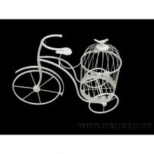 Подставка для цветов Велосипед, L50 W20 H38 см