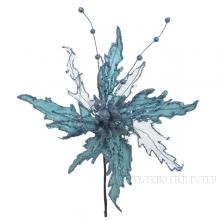 Изделие декоративное Цветок Пуансеттия, D30см (без инд.упаковки)