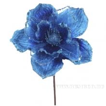 Изделие декоративное Цветок Магнолия, 28см(без инд.упаковки)
