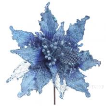 Изделие декоративное Цветок Пуансеттия, 33см(без инд.упаковки)