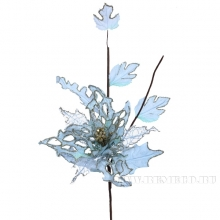Изделие декоративное Цветок Пуансеттия,  D25 H55 см(без инд.упаковки)