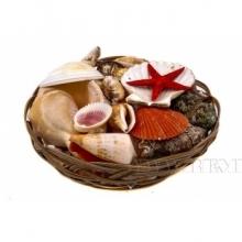 Декоративные украшения из ракушек
