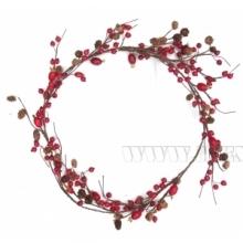 Ветки и цветы декоративные новогодние