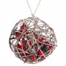 Декоративные новогодние елки, ветки
