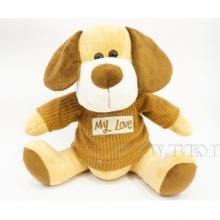 Игрушка мягконабивная Собака, H27см
