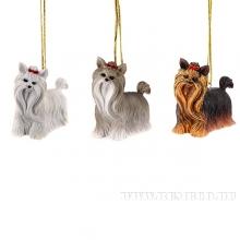 Новогоднее украшение Собака, H5 см, 3 в. (без инд.упаковки)