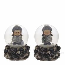 Новогодние стеклянные водяные шары