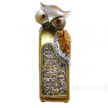 Фигурка декоративная Сова (с подсветкой), L7 W6 H20.5 см (2хLR44 прилаг.)