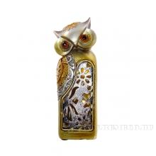 Фигурка декоративная Сова (с подсветкой), L6 W5 H15.5 см (2хLR44 прилаг.)