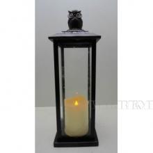 Декоративное изделие Фонарь с подсветкой, 13х12.5х34.5 см (2хАА не прилаг.)