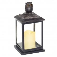 Декоративное изделие Фонарь с подсветкой, 14х14х28.5 см (2хАА не прилаг.)