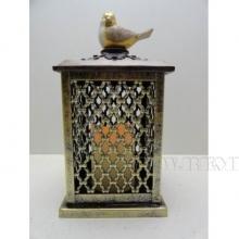 Декоративное изделие Фонарь с подсветкой, 14х14х28 см (3хААА не прилаг.)