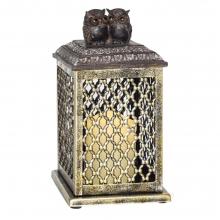 Декоративное изделие Фонарь с подсветкой, 14х14х27 см (3хААА не прилаг.)