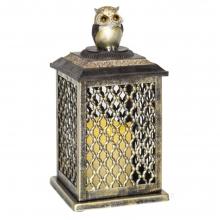 Декоративное изделие Фонарь с подсветкой, 14х14х28.5 см (3хААА не прилаг.)
