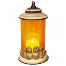 Декоративное изделие Фонарь с подсветкой, 13.5х13х24.5 см (2хААА не прилаг.)