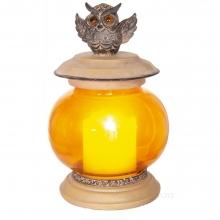 Декоративное изделие Фонарь с подсветкой, 12.5х12х18.5 см (2хААА не прилаг.)