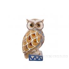 Фигурка декоративная Сова с подсветкой, 8.5х8х15.5 см (3хLR41 прилаг.)