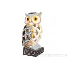 Фигурка декоративная Сова с подсветкой, 11х10х20 см (2хААА не прилаг.)